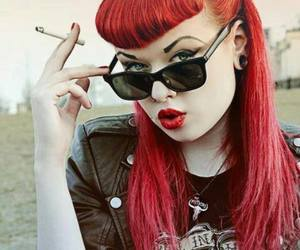 red hair, Pin Up, and rockabilly image