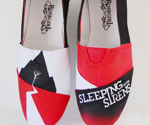 sleeping with sirens and shoes image
