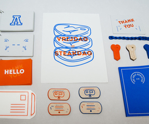 design, graphic, and sarah buervenich identity image