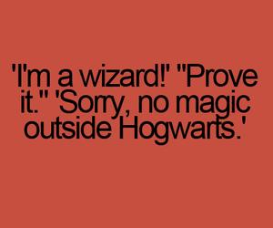 hogwarts, magic, and harry potter image