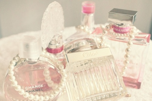chance, pastel, and perfume image