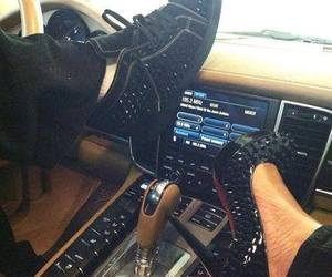 car, shoes, and heels image