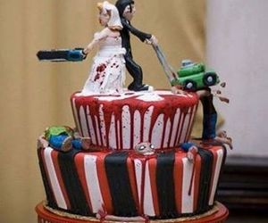 awesome, bloody, and marriage image