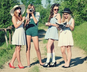 fashion, lovely, and cute image