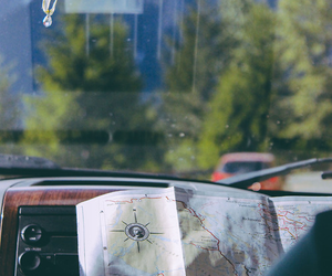 map and car image