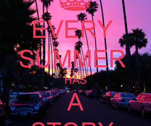 summer, story, and pink image