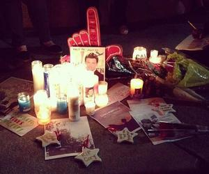 him, cory monteith, and death image