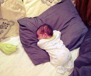 baby, sleep, and lovely image
