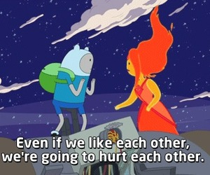 adventure time, love, and hurt image