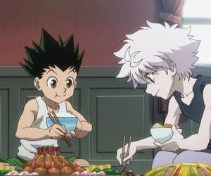 hunter x hunter, gon freecss, and killua zoldyck image