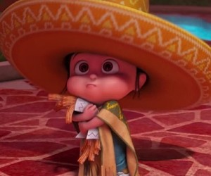 agnes, despicable me, and churros image
