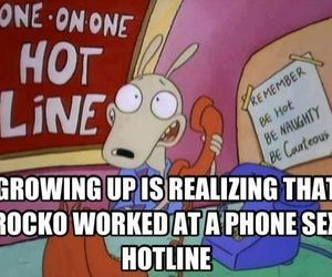 rocko and funny image