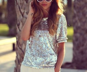 fashion, girly, and sequins image