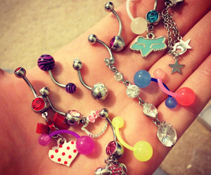 beautiful, fashion, and pircing image