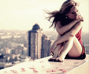 beauty, City., and depressed image