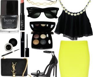 black, fun, and yellow image