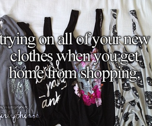 shopping and clothes image