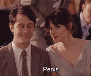 penis, quotes, and 5oo days of summer image