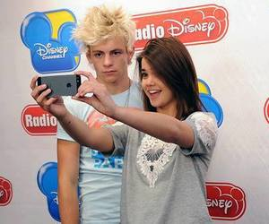 ross lynch, hair, and maia mitchell image