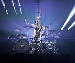 drums, god, and travis barker image