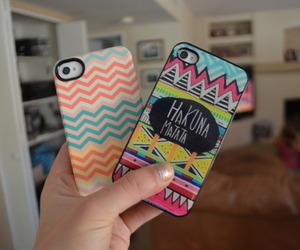 case, iphone, and hakuna matata image