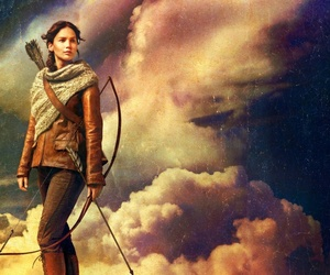 Jennifer Lawrence, katniss everdeen, and hunger games image