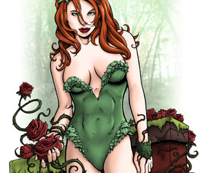 comic, ivy, and poison image