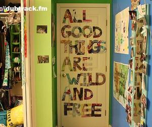 room, wild, and free image