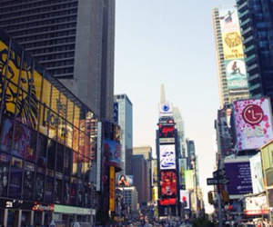 buildings, cab, and new york image