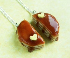 food and necklace image