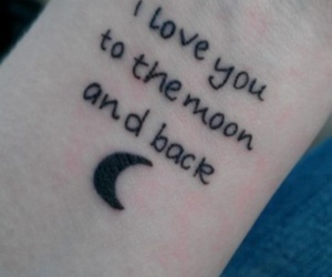 back, I Love You, and quote image