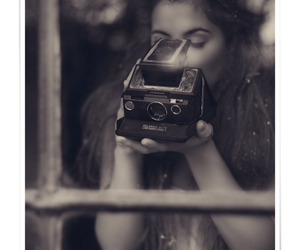 beauty, black and white, and camera image