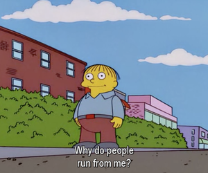 the simpsons, simpsons, and ralph image