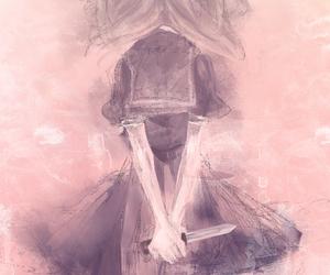 anime girl, illustration, and girl image