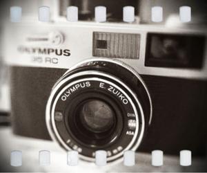 black, camera, and Olympus image