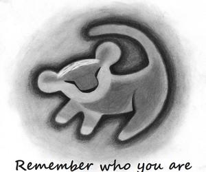 lion king, remember, and simba image