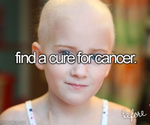 cancer, cure, and life image