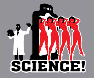 science, scientist, and tees image