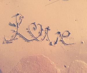 love, beach, and summer image