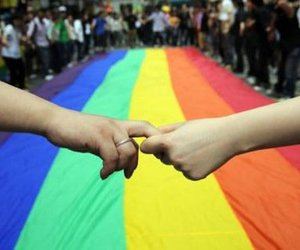 gay, love, and lesbian image