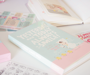 book, pastel, and kawaii image