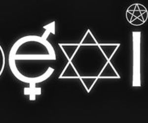 bi, wicca, and coexist image