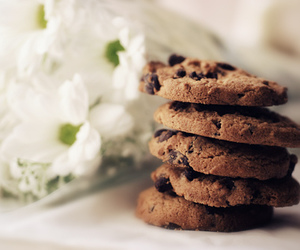 Cookies, flowers, and food image