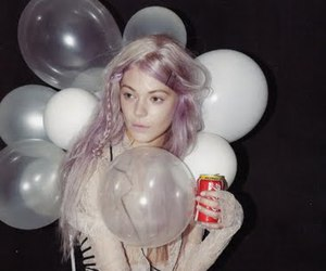 balloons, baloons, and coca cola image
