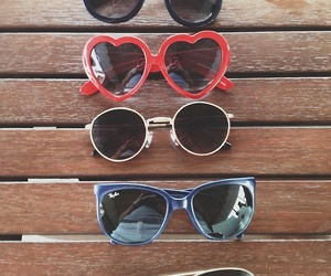 glasses, sunglasses, and summer image