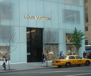 5th avenue, Louis Vuitton, and LV image