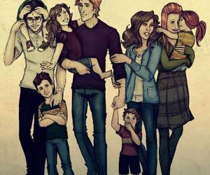 harry potter, family, and hermione granger image