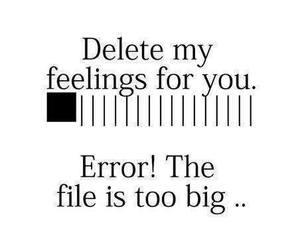 love, feelings, and error image