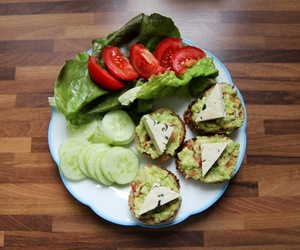 avocado, diet, and lunch image