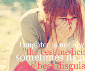laughter, quote, and laugh image